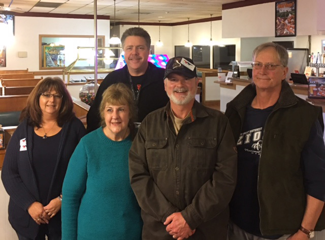 2018 Club Board Members