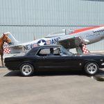 Vic's black Mustang
